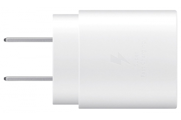Large image of Samsung White 25W USB-C Fast Charging Wall Charger - EP-TA800XWEGUS