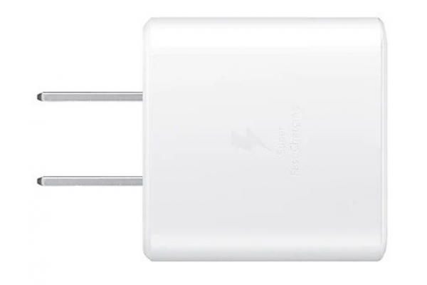 Large image of Samsung White 45W USB-C Fast Charging Wall Charger - EP-TA845XWEGUS