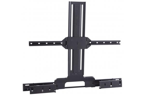 Large image of Sanus Black Soundbar And TV Mount For Sonos Arc Sound Bar - WSSATM1-B2