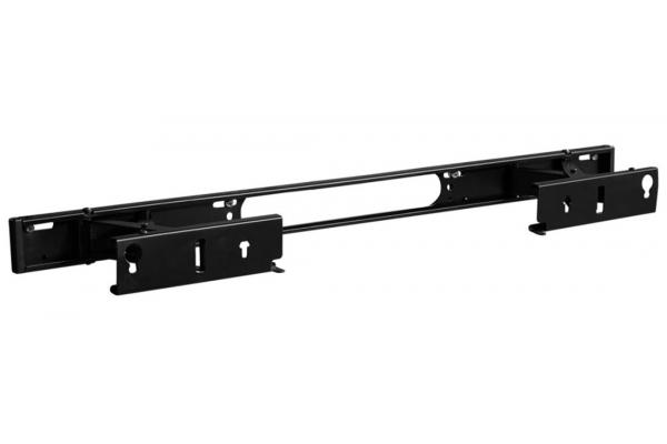 Large image of Sanus Black Extendable Soundbar Wall Mount For Sonos Arc Sound Bar - WSSAWM1-B2