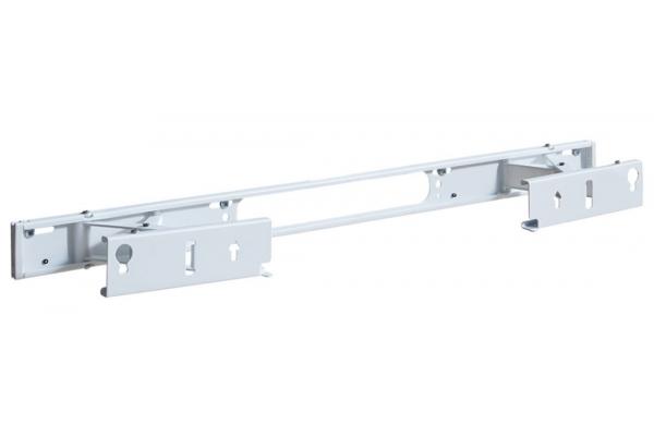 Large image of Sanus White Extendable Soundbar Wall Mount For Sonos Arc Sound Bar - WSSAWM1-W2