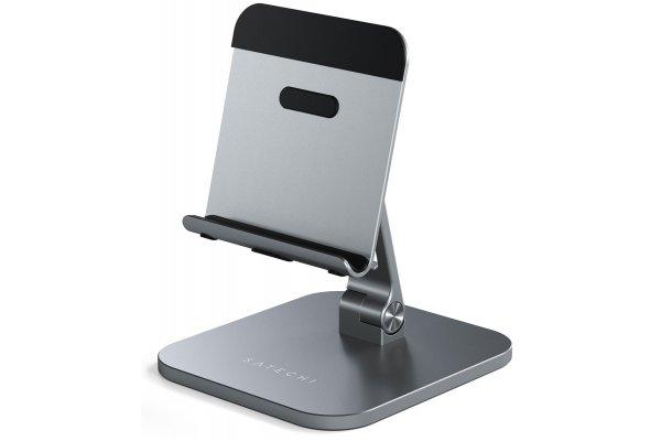 Large image of Satechi Space Gray Aluminum Desktop Stand - ST-ADSIM