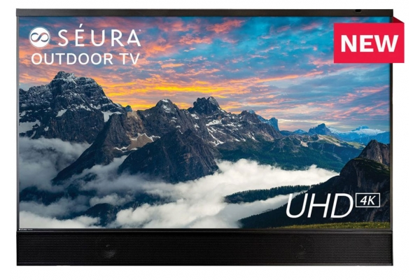 "Large image of Seura Shade Series 2 65"" Outdoor TV w/ Soundbar - SHD2-65"