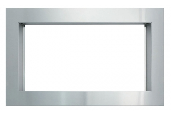 "Large image of Sharp 27"" Stainless Steel Built-in Microwave Oven Trim Kit - RK56S27F"
