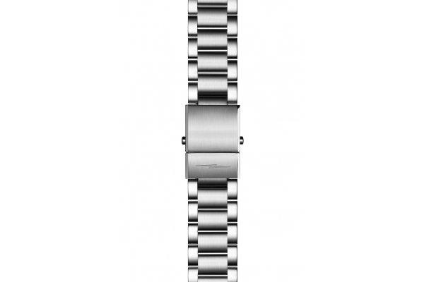 Large image of Shinola 22mm Stainless Steel 3-Link Bracelet - 20188696