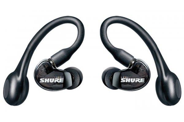 Large image of Shure AONIC Black 215 True Wireless Earphones Gen 2 - SE21DYBK+TW2