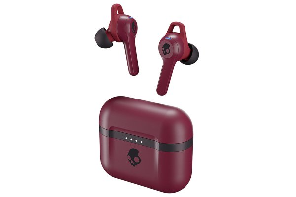 Large image of Skullcandy Indy Evo True Wireless Deep Red Earbuds - S2IVW-N741