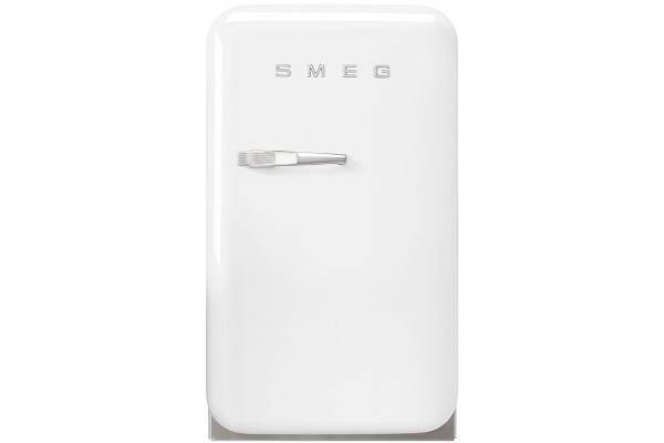 Large image of Smeg 50s Retro Style White Right-Hinge Mini Refrigerator - FAB5URWH3