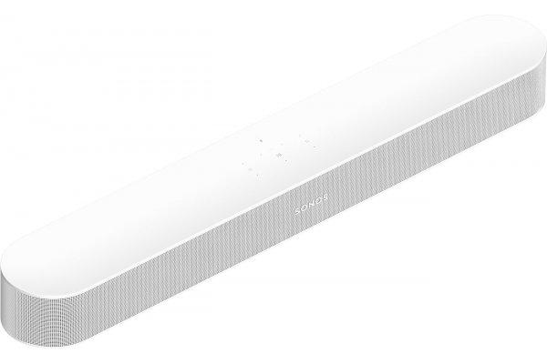 Large image of Sonos Beam Gen 2 White Soundbar Speaker - BEAM2US1