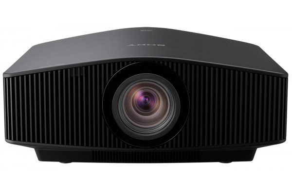 Large image of Sony Black 4K HDR Laser Home Theater Projector - VPLVW1025ES