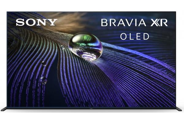 """Large image of Sony 83"""" BRAVIA XR A90J Black 4K HDR OLED Smart HDTV - XR83A90J"""