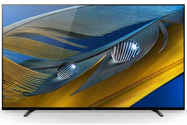 "Large image of Sony 65"" BRAVIA XR A80J 4K HDR OLED TV - XR65A80J"