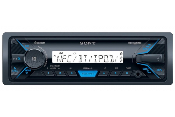 Large image of Sony Media Receiver With Bluetooth Wireless Technology - DSX-M55BT