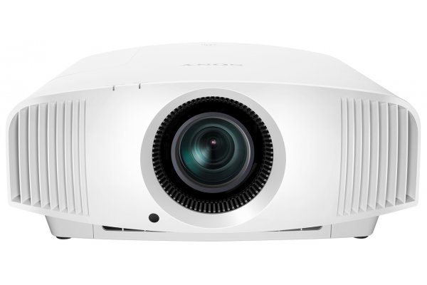Large image of Sony White 4K HDR Home Theater Projector - VPLVW325ESW