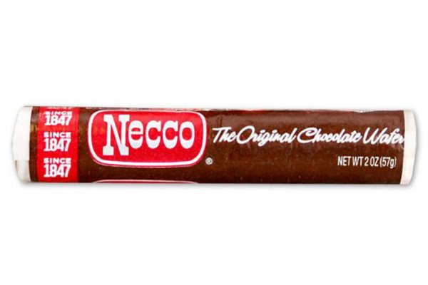 Large image of Spangler Candy Necco Chocolate Wafers - 91000