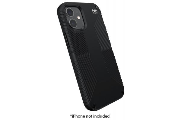 Large image of Speck Presidio 2 Grip Black Apple iPhone 12 Mini Case - 138475-D143