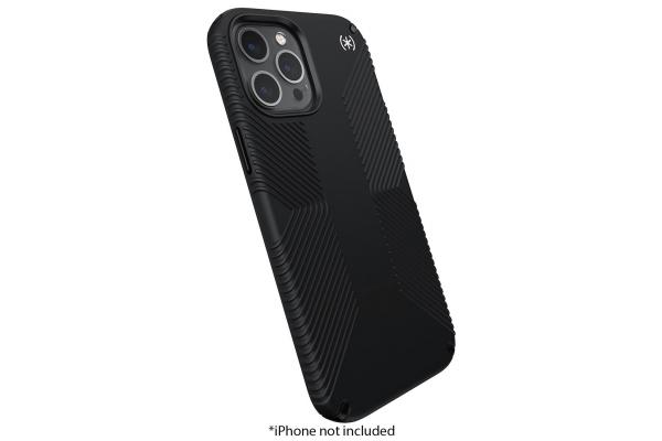 Large image of Speck Presidio 2 Grip Black Apple iPhone 12 Pro Max Case - 138500-D143