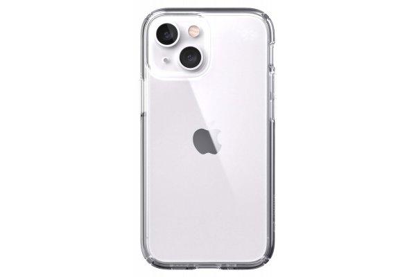 Large image of Speck Presidio Perfect-Clear Apple iPhone 13 mini Case - 141658-5085