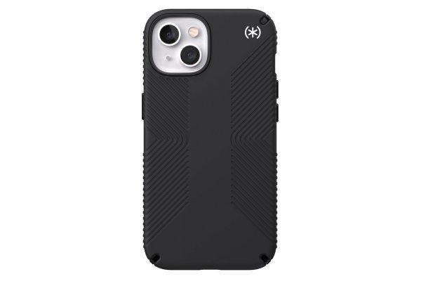 Large image of Speck Presidio2 Grip Black Apple iPhone 13 Case - 141689-D143