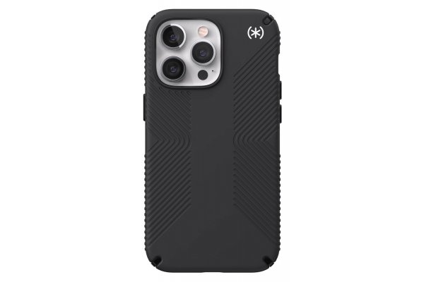 Large image of Speck Presidio2 Grip Black Apple iPhone 13 Pro Case - 141712-D143