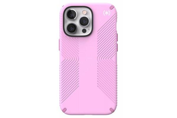 Large image of Speck Presidio2 Grip Aurora Pink/Purple Apple iPhone 13 Case - 141712-9603