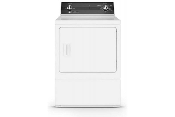 Large image of Speed Queen 7 Cu. Ft. White Sanitizing Gas Dryer - ADG3SRGS117TW01