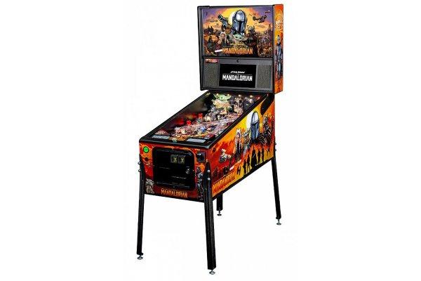 Large image of Stern Pinball The Mandalorian Pro Edition Pinball Machine - MANDALORIANPRO