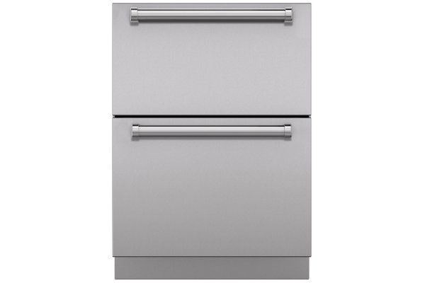 Large image of Sub-Zero Stainless Steel Outdoor Drawer Panels With Pro Handle - 9011700