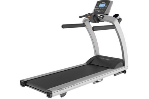 Large image of Life Fitness T5 Base Treadmill with Go Console - T5PACKAGE1