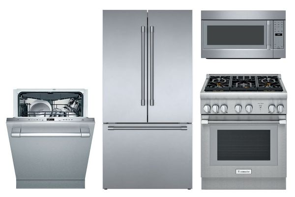 Large image of Thermador Stainless Steel Kitchen Appliance Package - THERPACK1