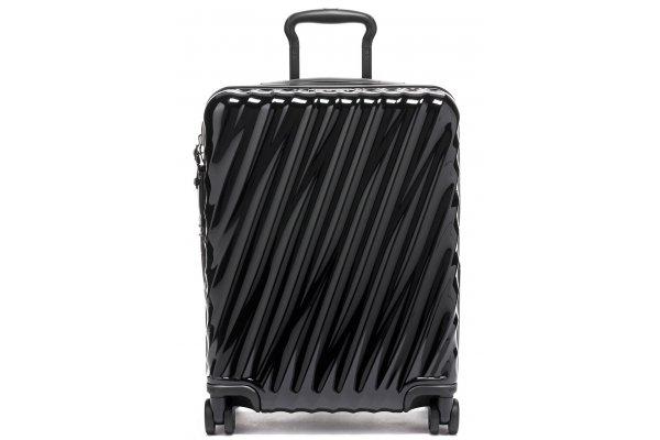 Large image of TUMI 19 Degree Black Continental Expandable 4 Wheeled Carry-On - 139684-1041