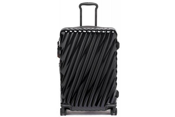 Large image of TUMI 19 Degree Black Short Trip Expandable 4 Wheeled Packing Case - 139685-1041