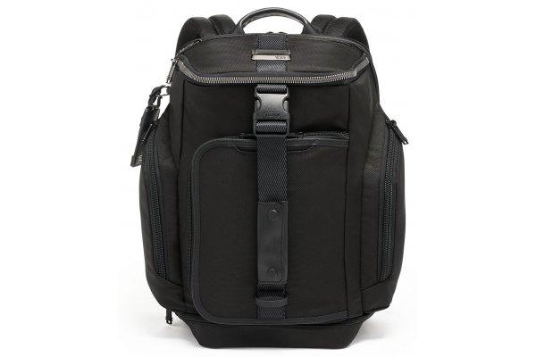 Large image of TUMI Alpha Bravo Black Admiral Backpack Duffel - 139768-1041