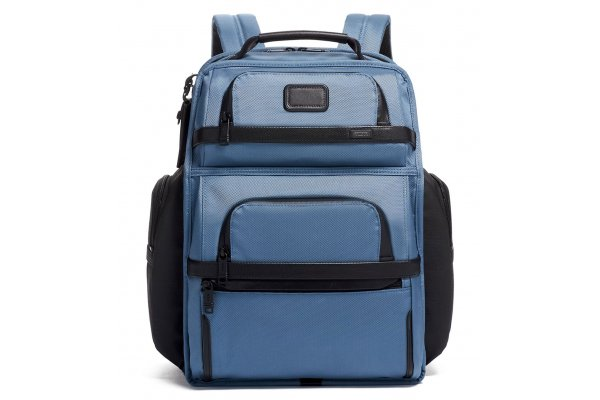 Large image of TUMI Alpha 3 Storm Blue Brief Pack - 139774-1831