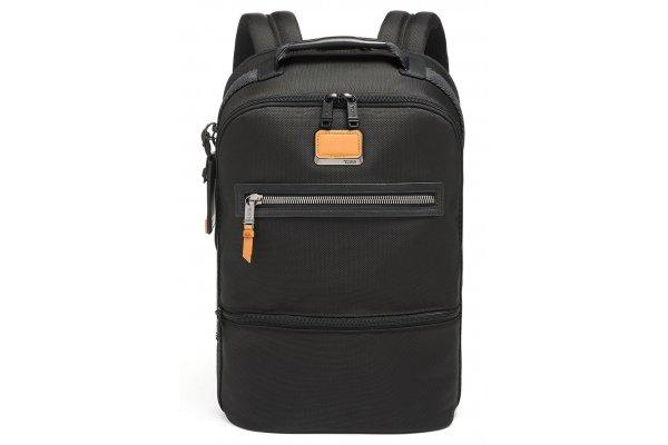 Large image of TUMI Alpha Bravo Black Essential Backpack - 139766-1041