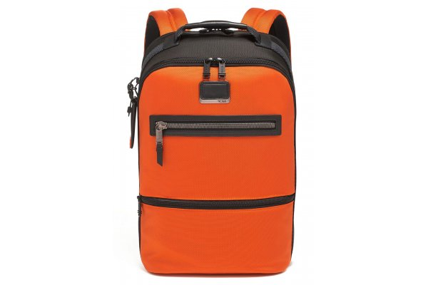 Large image of TUMI Alpha Bravo Orange Essential Backpack - 139766-1641