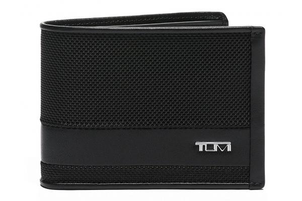 Large image of TUMI Alpha Black Double Billfold - 135606-1041