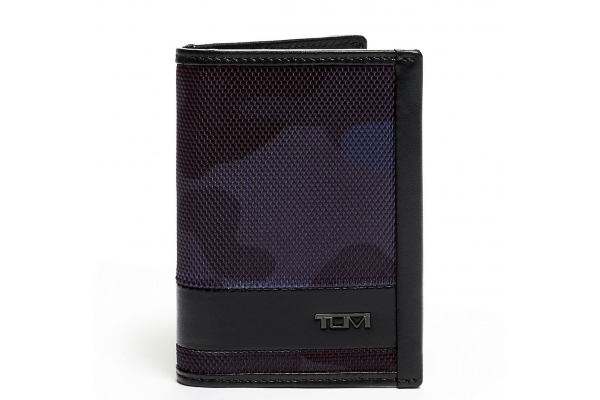 Large image of TUMI Alpha Navy Camo/Black Multi Card Case - 135628-9056