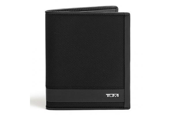 Large image of TUMI Alpha Black Passport Case - 135629-1041
