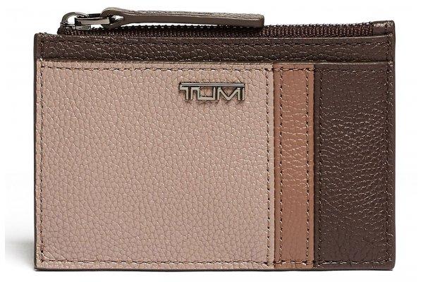 Large image of TUMI Belden Dusk Spectator Zip Card Case - 125075-9485