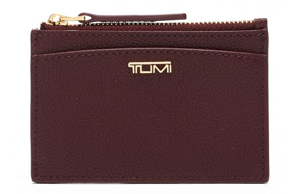Large image of TUMI Belden Cordovan Zip Card Case - 135510-2156