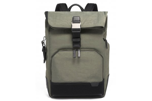Large image of TUMI Harrison Titanium Osborn Roll Top Backpack - 139779-1864