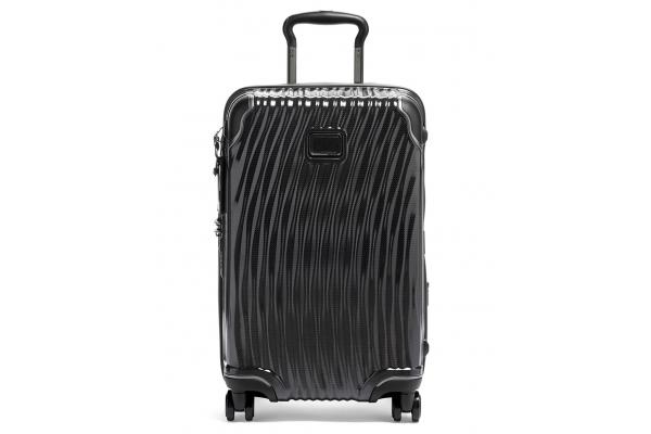 Large image of TUMI Latitude Black International Expandable Carry-On - 134864-1041