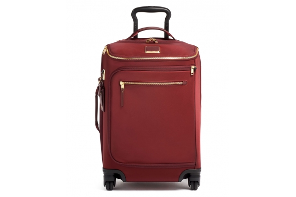 Large image of TUMI Voyageur Cordovan Leger International Carry-On - 135492-2156