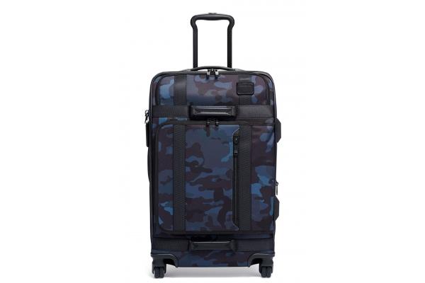 Large image of TUMI Merge Navy Camo Short Trip Expandable 4 Wheeled Packing Case - 136625-7105