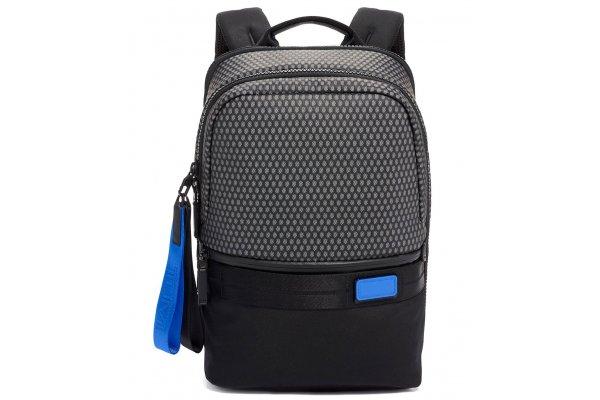 Large image of TUMI Tahoe Black Mesh Nottaway Backpack - 139789-4867
