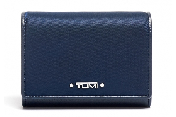 Large image of TUMI Voyageur Indigo Accordion Card Case - 135507-1438