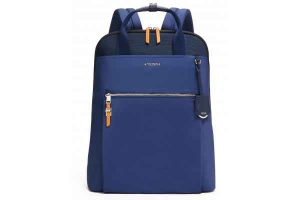 Large image of TUMI Voyageur Sky Navy Essential Backpack - 139718-9486