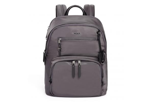 Large image of TUMI Voyageur Iron/Black Hilden Backpack - 125049-T273