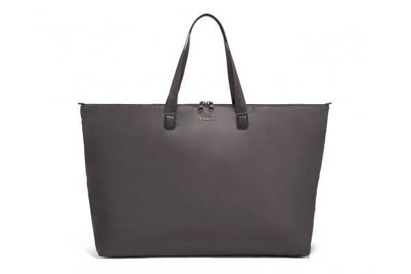 Large image of TUMI Voyageur Iron/Black Just In Case Tote - 110042-T273
